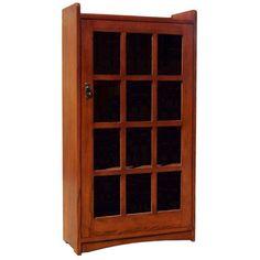 One Door Mission Bookcase - BCASM001C