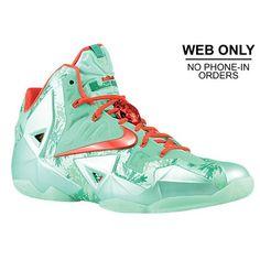 5d0bcb461c0c Nike LeBron XI – Men s – Basketball – Shoes – Green Glow Arctic Green