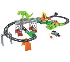 Buy Fisher-Price Thomas & Friends TrackMaster Dino Escape Set | Toy trains | Argos