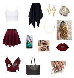 """56"" by fernanda-guttilla on Polyvore featuring Acne Studios, Topshop, Michael Antonio, Samsung, Miss Selfridge, Lana, Yves Saint Laurent and Lime Crime"