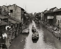 The 1,400-year-old Grand Canal is a monumental project that bound north and south China together. It's still in use today. World History Facts, China Travel, China Trip, Yangzhou, Grand Canal, Nagano, Real Estate Development, 14th Century, Albania