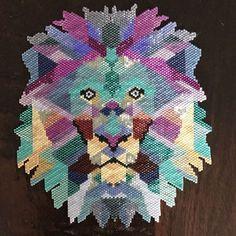 107 mentions J'aime, 15 commentaires - @delph_d sur Instagram: «Et voilà mon lion mais tissé par ma maman cette fois @dominiquemerla #miyukidelica #miyuki…»