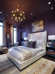 Bedroom Paints Design Alluring Purple And Gray Bedroom Thinking This Maybe Brooklyn's Room Colors Review