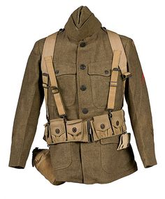 US WWI ID'd 42nd Division on Mannequin with All Field Gear - Cowan's Auctions