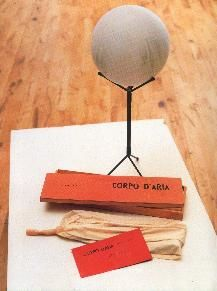Body of Air - Piero Manzoni Start Date: 1959 Completion Date:1960 Style: Conceptual Art Genre: installation