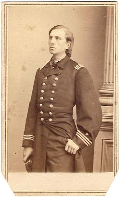 """CSA Navy - Lt. William Barker Cushing (Nov. 4, 1842 - Dec. 17, 1874) gained fame as one of the most daring Naval commanders of the Civil War. Despite his young age, he commanded several Union warships with distinction. His two most famous acts are the nighttime raid and destruction of the formidable Confederate ram """"CSS Albemarle"""" and his leading of the naval brigade in the assault upon Fort Fisher, North Carolina."""