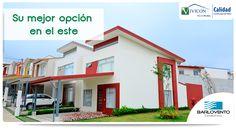 ¿En busca de opciones de vivienda en el este de la capital? Aproveche la última etapa de Barlovento Condominio. Visite www.barlovento.cr o llámenos al 2273-8785 para más información.