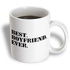 Amazon.com: 3dRose mug_151478_1 Best Boyfriend Ever Fun Romantic Love and Dating Gifts for Him for Anniversary or Valentines Day Ceramic Mug...