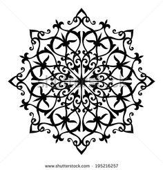 Arabesque decor. Mandala. Vector Illustration. - stock vector