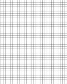 Orthographic Grid Paper Llll