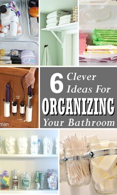 Organizing Tips for