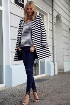 Looks Street Style, Looks Style, Style Me, Hair Style, Street Mode, Street Wear, Street Chic, Estilo Navy, Marine Look