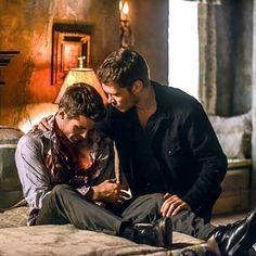 Brothers Mikaelson #Theoriginals #Klaus #Elijah