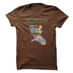 Runnersworld California running T Shirts, Hoodies. Check price ==► https://www.sunfrog.com/Sports/Runnersworld--California-running-shirt.html?41382