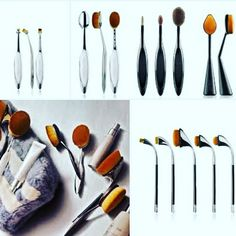 Latest design oval brushes used for makeups