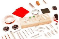 "In the ""Building a Simple Motor Puts a New Spin on Magnets"" electricity and electronics #science project, students build a simple Beakman motor and investigate how design changes affect the rate and direction of rotation. A project kit of specialty items is available to do this science project! [Source: Science Buddies, Project: http://www.sciencebuddies.org/science-fair-projects/project_ideas/Elec_p051.shtml?from=Pinterest] #STEM #scienceproject"