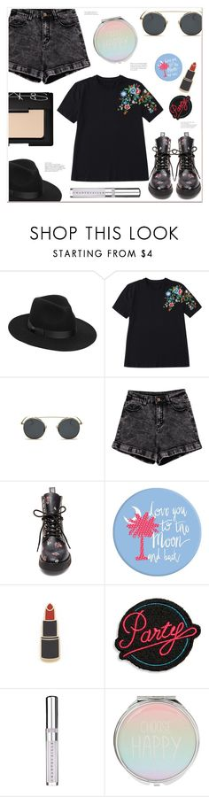 """Personal style"" by mycherryblossom ❤ liked on Polyvore featuring Lack of Color, Steve Madden, Georgia Perry, Marc Jacobs, Chantecaille and NARS Cosmetics"