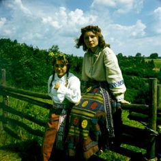 Lithuanian women in costume