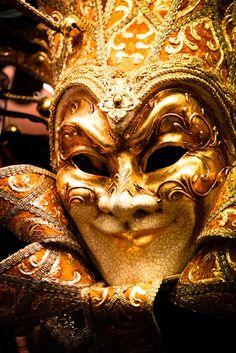 Carnivale Mask in Venice Italy 8x10 Photograph  by rebeccaplotnick, $30.00