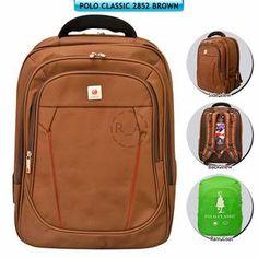 Tas Punggung / Backpack Polo Classic 2852 - Brown IVB7
