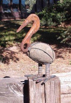 Sculptures vieux outils