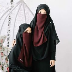 Hijab Gown, Hijab Style Dress, Hijab Niqab, Muslim Hijab, Hijab Outfit, Anime Muslim, Beautiful Muslim Women, Beautiful Hijab, Niqab Fashion
