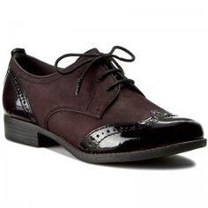 Oxford cipők TAMARIS - 1-23202-27 Bordeaux 549