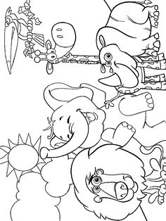 Zoo Animal Coloring Pages for Kids - Printable or Online