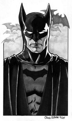Golden Age Batman - Craig Cermak