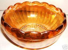 Look what I found on @eBay! http://r.ebay.com/QxfIBg Vintage MARIGOLD Carnival Glass Scalloped Rim Dish 60s
