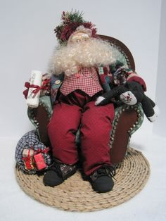 Christmas Eve Father Christmas by PutsyPlace on Etsy