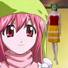 Elfen Lied Nyu Cosplay Outfits Cloting