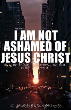 I am not ashamed of Jesus Christ. - Jesus Quote - Christian Quote - I am not ashamed of Jesus Christ. The post I am not ashamed of Jesus Christ. appeared first on Gag Dad. Bible Verses Quotes, Bible Scriptures, Christian Life, Christian Quotes, Christian Warrior, Jesus Christ Quotes, Jesus Prayer, Jesus Is Lord, Gods Grace