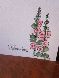 Simplicity Watercolor Card
