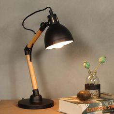 Bureaulamp - Zwart