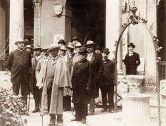 """Antonino Salinas con l'imperatore Guglielmo II di Germania, #museosalinas 1922 #mostra """"Del #Museo di #Palermo e del suo avvenire"""" - Il Salinas ricorda SALINAS 1914-2014"""