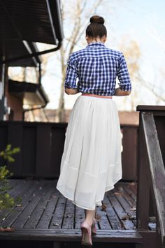 Fancy Gingham Style.