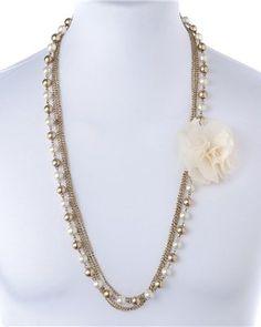 ANNE WEYBURN Multi-Strand Necklace