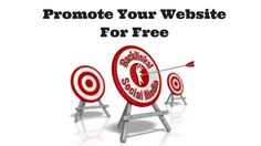 There are many paid methods to promoting your website, including PPC, banner ads, Facebook Ads etc. But it is possibe to Promote Your Website For Free.