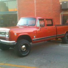 International pickup truck