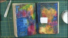 Altered Books-Textured Pages