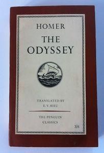 Vintage Penguin Paperback Book #L1, Homer - The Odyssey