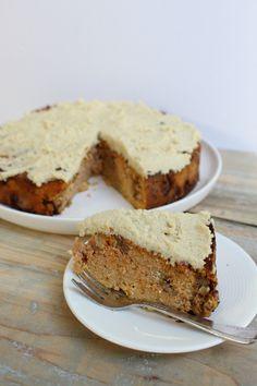 Healthy Cake, Healthy Baking, Healthy Snacks, Low Carb Recipes, Baking Recipes, Dutch Recipes, Good Food, Yummy Food, Brunch