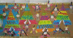 Fresque. Idée pour décorer la classe