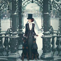 Steampunk Tendencies | Model: Catherine Ryabenko - Photography Margarita...