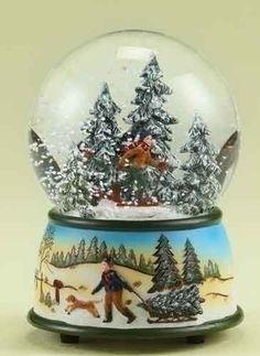 Confession: I love snow globes