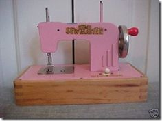 I had this sewing machine as a child.