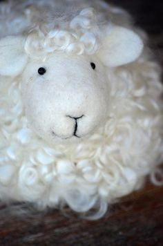 #lamb needle felted by BearCreekDesign #sheep