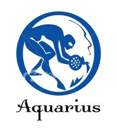 aquarius symbol | Symbols and Logos: Zodiac Sign Aquarius Photos