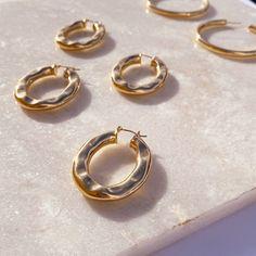 Gold plated earrings from $35 Gold Plated Earrings, Pearl Earrings, Plating, Jewels, Pearl Studs, Jewerly, Bead Earrings, Gemstones, Fine Jewelry